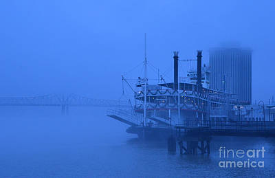 Photograph - Fog On The Mississippi by Jeanne  Woods