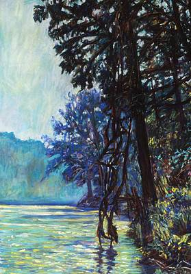 Painting - Fog On The New River by Kendall Kessler