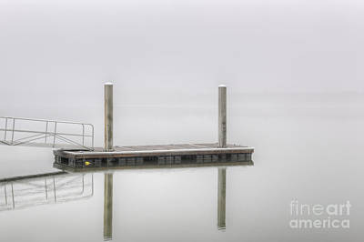 Photograph - Fog On The Water by Dale Powell