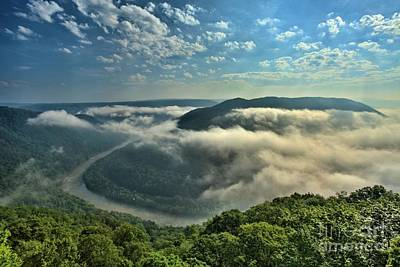 Photograph - Fog Over Grandview by Adam Jewell