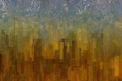 Fog Over Midtown Art Print by Jack Zulli