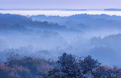 Photograph - Fog Over Pleasant Hill Lake by Dale Kincaid