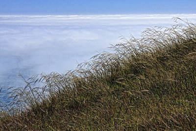 Photograph - Fog Over The Ocean by Wes and Dotty Weber