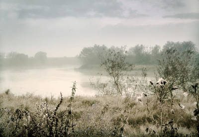 D300 Photograph - Fog Over The River. Stirling. Scotland by Jenny Rainbow