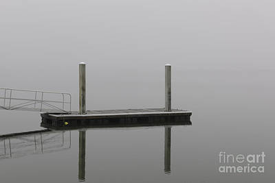 Photograph - Fog Reflection by Dale Powell