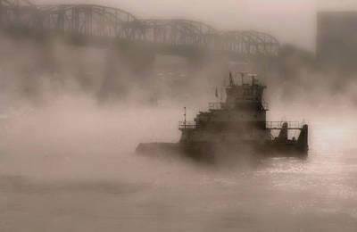 Photograph - Fogbound by William Griffin
