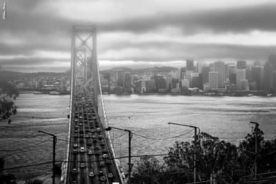 Foggy City Of San Francisco Art Print