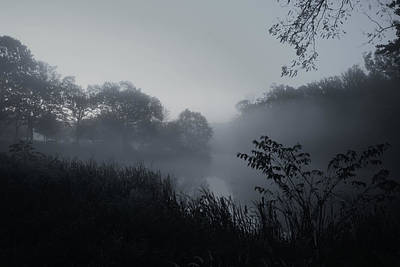 Photograph - Foggy Dawn - Holmdel Park by Angie Tirado