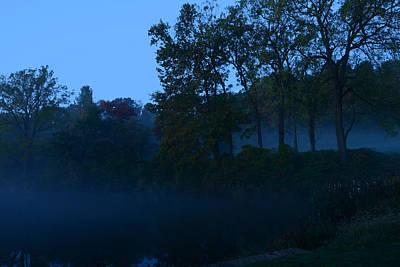 Photograph - Foggy Dawn II- Holmdel Park by Angie Tirado