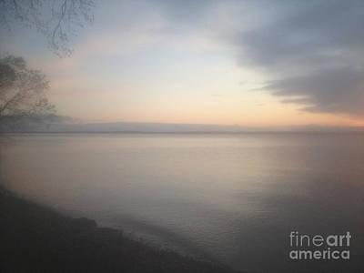 Photograph - Foggy Dawn by William Norton