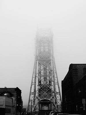 Duluth Photograph - Foggy Day In Duluth by Heidi Hermes