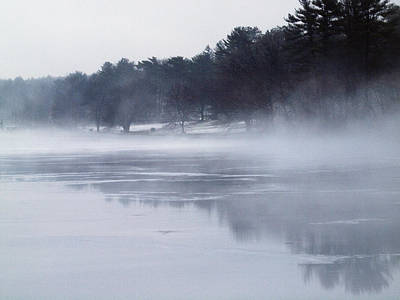 Photograph - Foggy Day On The Lake by Maureen Cunningham