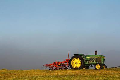 Photograph - Foggy Deere by John McArthur