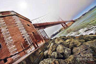Photograph - Foggy Gates by Blake Richards