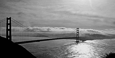 Photograph - Foggy Golden Gate Bridge by Kathi Isserman