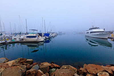 Photograph - Foggy Harbor 2 by Ben Graham
