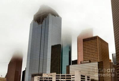 Photograph - Foggy Houston II by Audrey Van Tassell