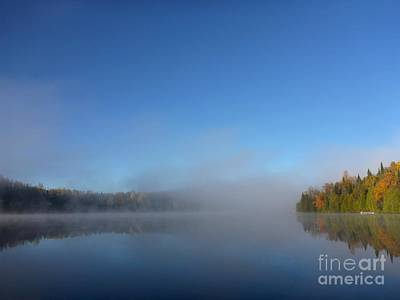 Photograph - Foggy Lake by Cristina Stefan