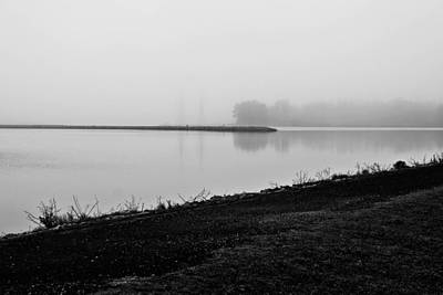 Photograph - Foggy Lake by Jessica Brown