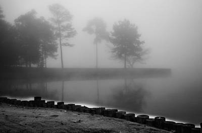 Photograph - Foggy Landscape by Parker Cunningham