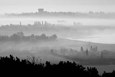 Peaceful Scene Photograph - Foggy Morn by Barb Gabay