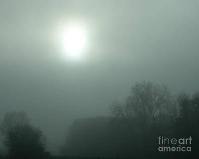 Photograph - Foggy Morn by Nan Wright