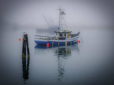 Photograph - Foggy Morning At Rest by Dutch Ducharme