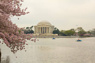 Photograph - Foggy Morning At The Jefferson Memorial by Leah Palmer