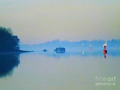Photograph - Foggy Morning At The River by Robyn King