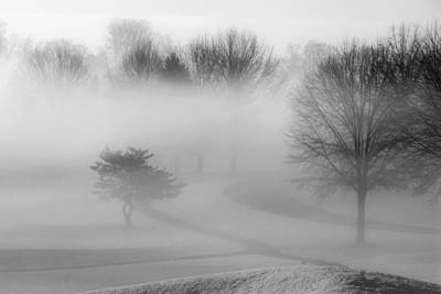 Photograph - Foggy Morning by Carol Erikson