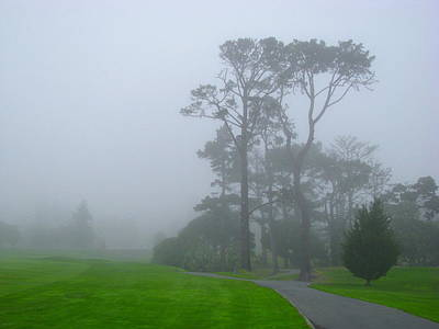 Photograph - Foggy Morning by Derek Dean