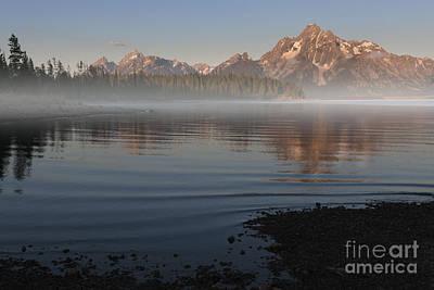 Photograph - Foggy Morning In Grand Teton National Park by Sandra Bronstein