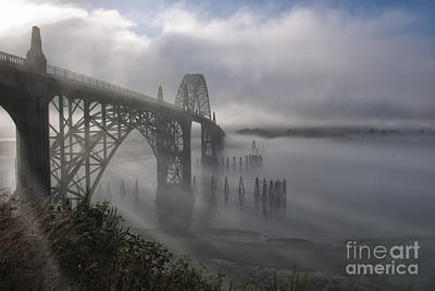 Photograph - Foggy Morning In Newport by Sandra Bronstein