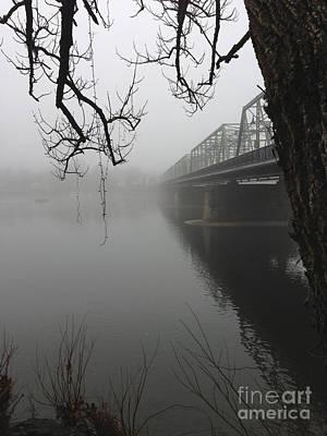 Foggy Morning In Paradise - The Bridge Art Print