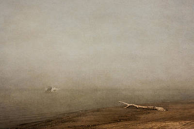 Digital Art - Foggy Morning In Port Burwell by Eduardo Tavares