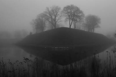 Photograph - Foggy Morning by Inge Riis McDonald