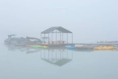 Photograph - Foggy Morning by Joan Herwig