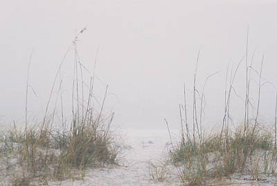Art Print featuring the photograph Foggy Morning by Michele Kaiser
