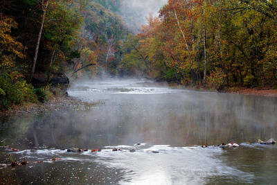 Photograph - Foggy Morning On The Buffalo by Lana Trussell
