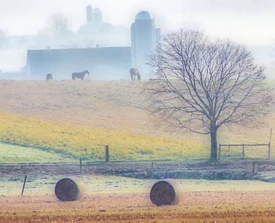 Photograph - Foggy Morning by Thomas  MacPherson Jr