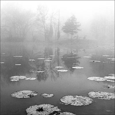 Daviess County Photograph - Foggy Morning by Wendell Thompson