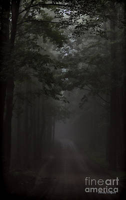 Photograph - Foggy Mountain Road by Randy Rogers