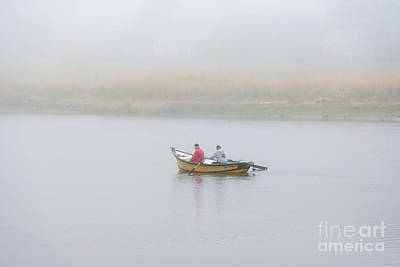 Photograph - Foggy Nestucca by Mike  Dawson
