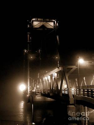 Photograph - Foggy Nights by Marcia Lee Jones