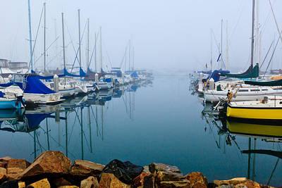 Photograph - Foggy Oceanside Harbor by Ben Graham