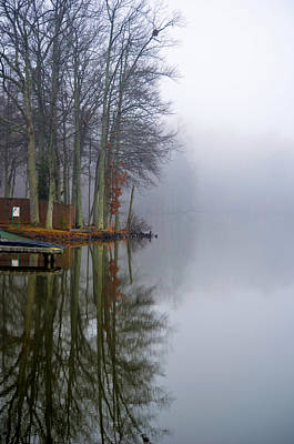 Photograph - Foggy Reflection by Sandi OReilly