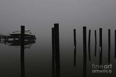Photograph - Foggy Reflections by Dale Powell