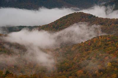 Photograph - Foggy Ridges by Joye Ardyn Durham