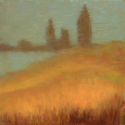 Foggy Skyline From Felixs Art Print by Vernon Reinike
