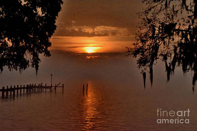 Photograph - Foggy Sunrise by Gary Smith